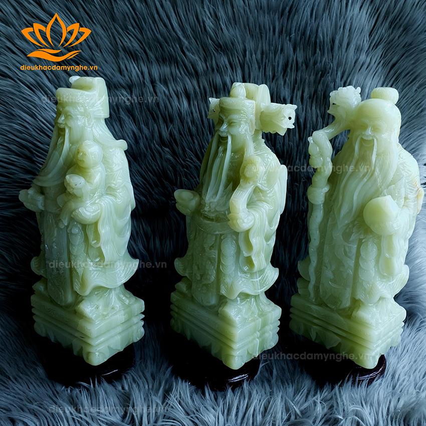 Tượng Phúc Lộc Thọ Ngọc Onyx