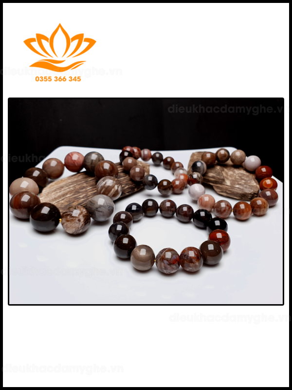 Vòng tay gỗ Hóa Thạch