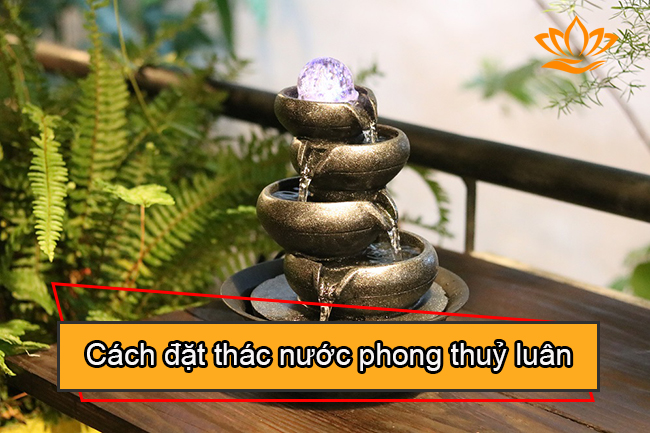 cach dat thac nuoc phong thuy luan