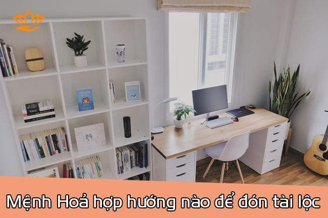menh hoa hop huong nao?