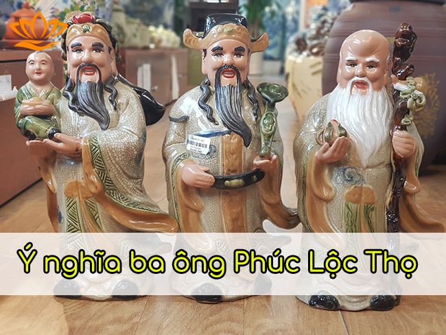 y nghia ba ong phuc loc tho